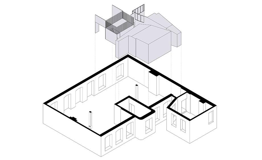 loft sch52 de batek architekten (18) - plano