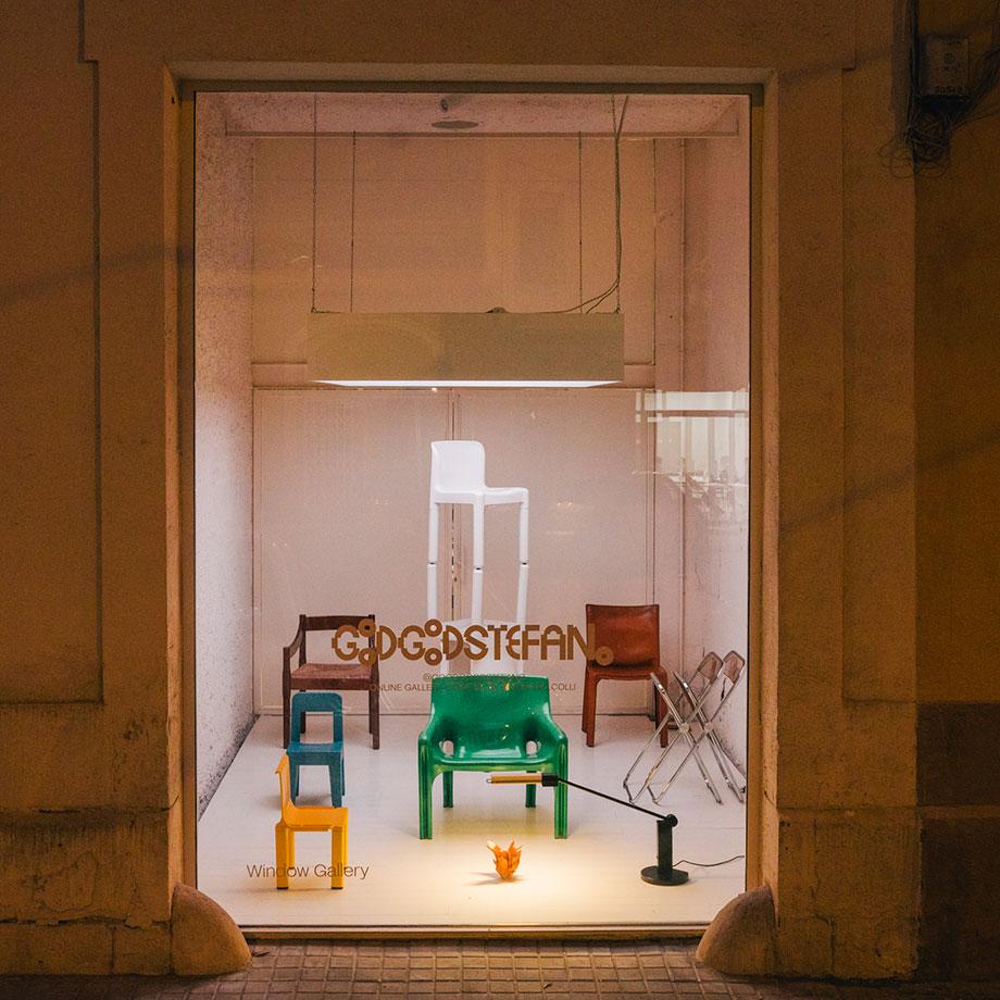 good goods de stefano colli en el escaparte de acid house barcelona (1)