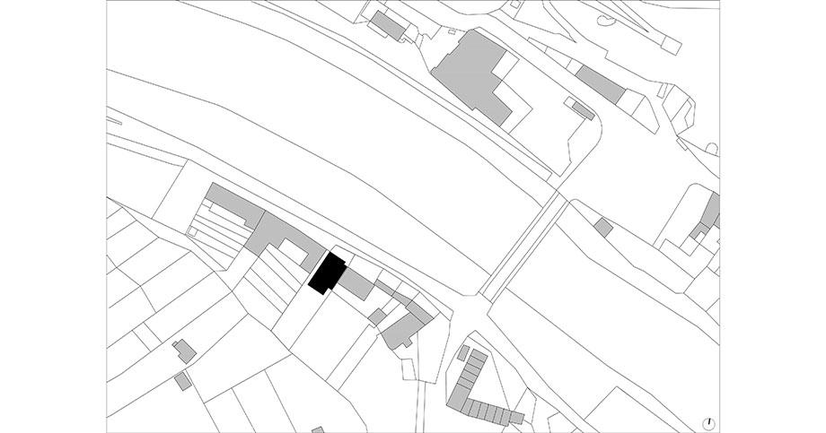 casa en river valley de kuba & pilar architekti (24) - plano