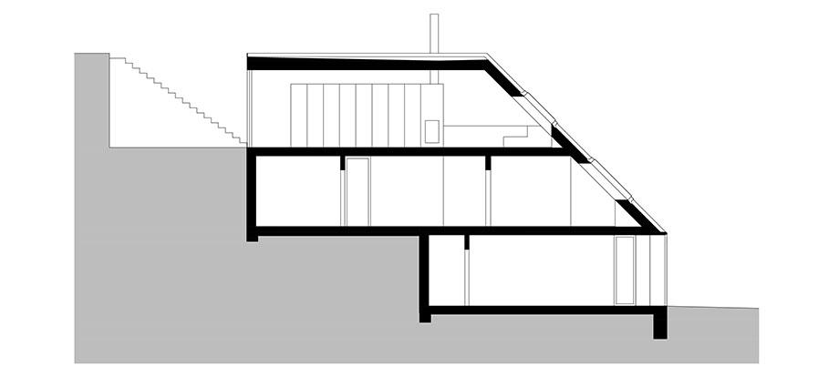 casa en river valley de kuba & pilar architekti (29) - plano