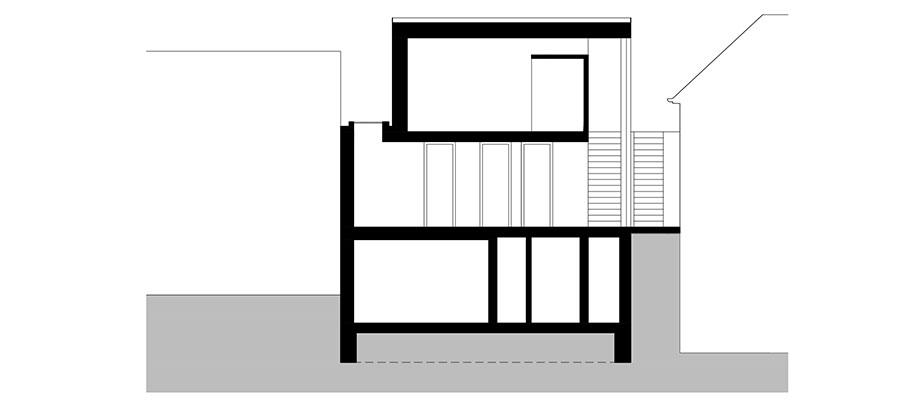 casa en river valley de kuba & pilar architekti (30) - plano