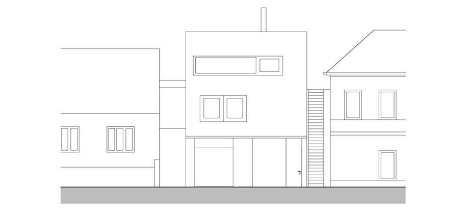 casa en river valley de kuba & pilar architekti (31) - plano