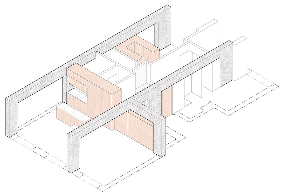 apartamento en oporto por paulo moreira architectures (22) - plano