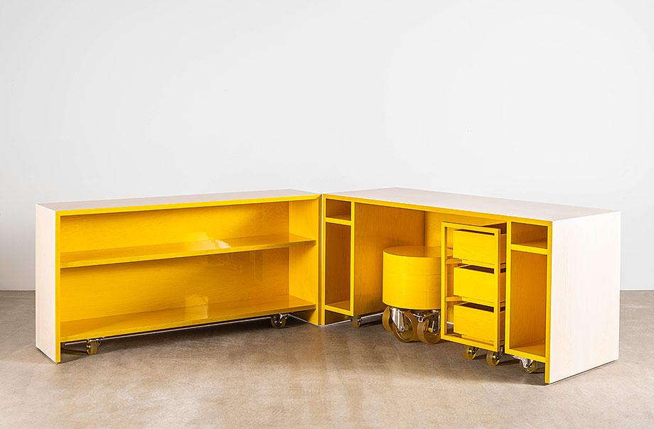 candy cubicle de sabine marcelis en arce americano - foto david cleveland