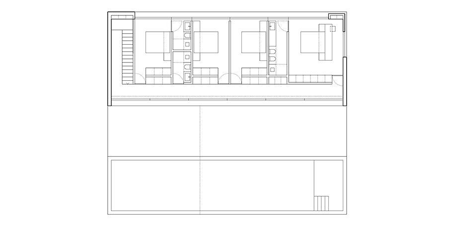 casa de arena de fran silvestre arquitectos (22) - plano