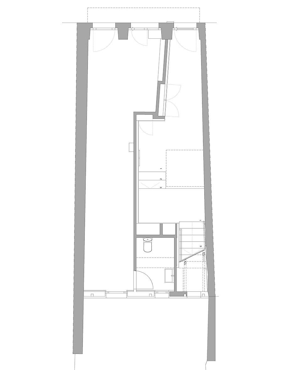 reforma inmueble en vigo de la urbana arquitectura y tree (14) - plano