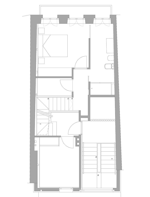reforma inmueble en vigo de la urbana arquitectura y tree (16) - plano