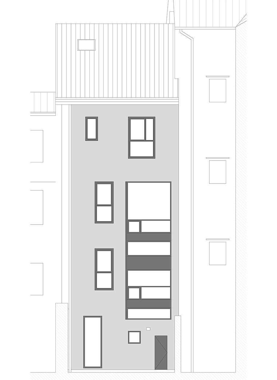 reforma inmueble en vigo de la urbana arquitectura y tree (21) - plano