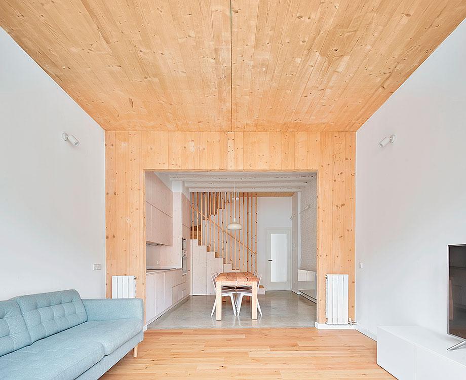 reforma y ampliación en terrassa de vallribera arquitectes (2) - foto jose hevia