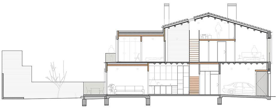 reforma y ampliacion en terrassa de vallribera arquitectes (26) - plano