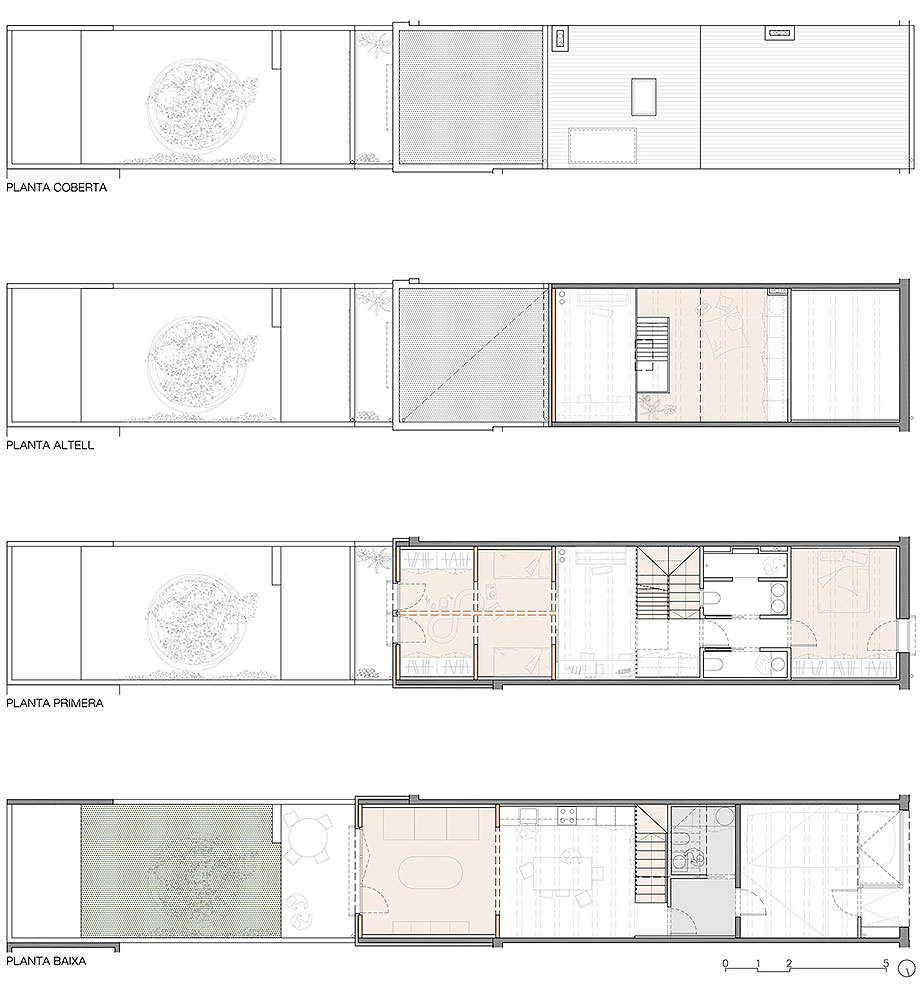 reforma y ampliacion en terrassa de vallribera arquitectes (27) - plano