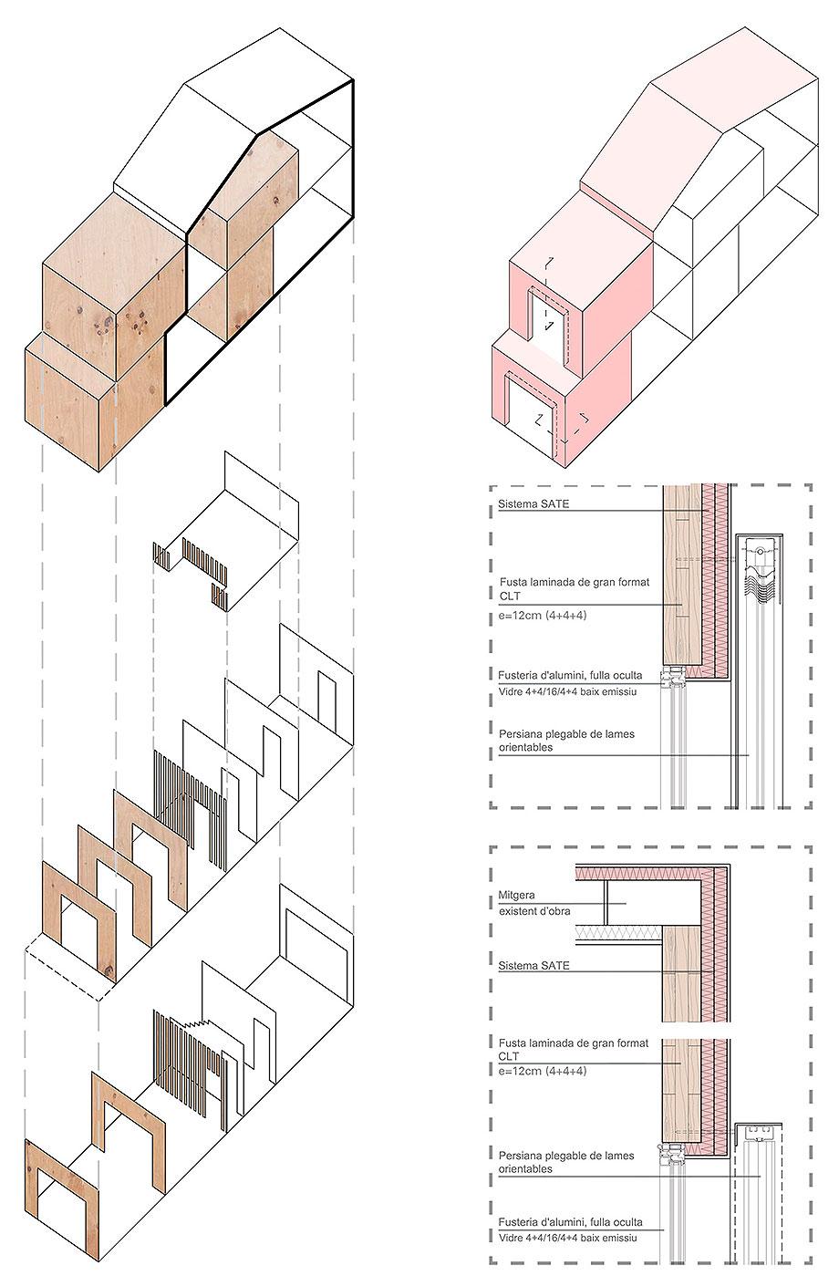 reforma y ampliacion en terrassa de vallribera arquitectes (28) - plano