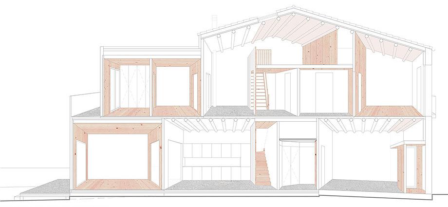 reforma y ampliacion en terrassa de vallribera arquitectes (29) - plano