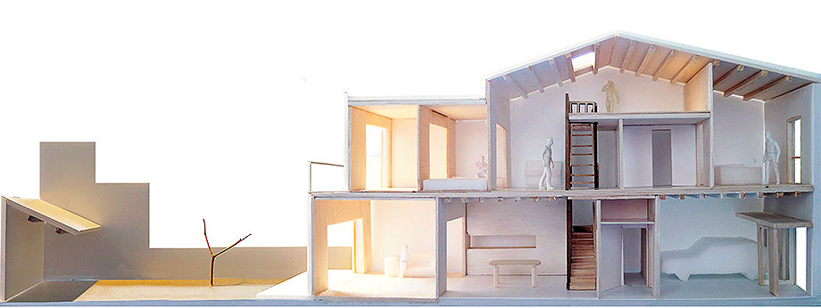 reforma y ampliacion en terrassa de vallribera arquitectes (30) - maqueta