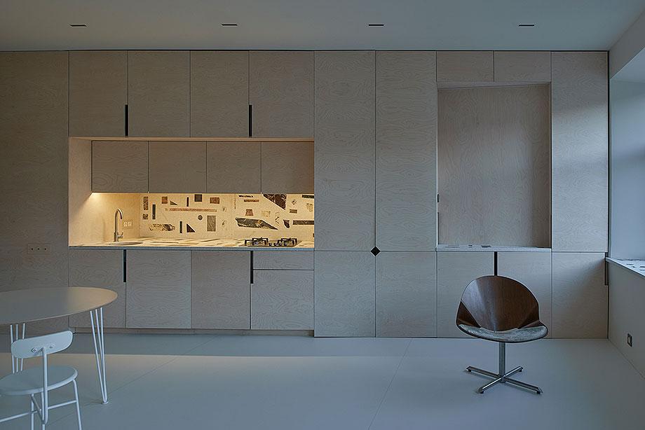 apartamento en vilna de sarkauskai architecture atelier (10) - foto darius petrulaitis