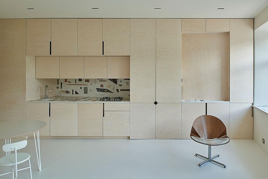 apartamento en vilna de sarkauskai architecture atelier (2) - foto darius petrulaitis