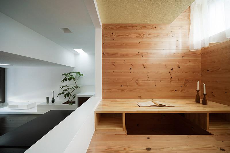 casa unifamiliar con tejado a dos aguas de form kouichi kimura (11) - foto takumi ota