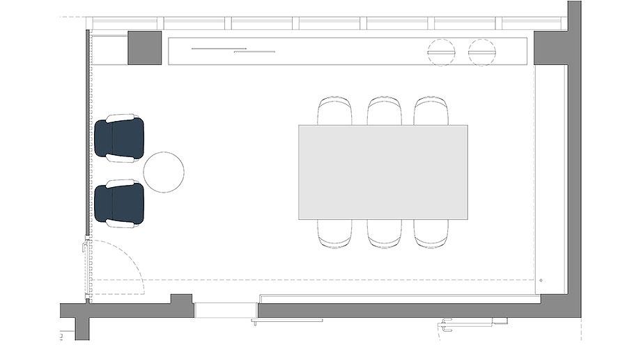 showroom difusiona lighting for architecture de marta alonso (12) - plano