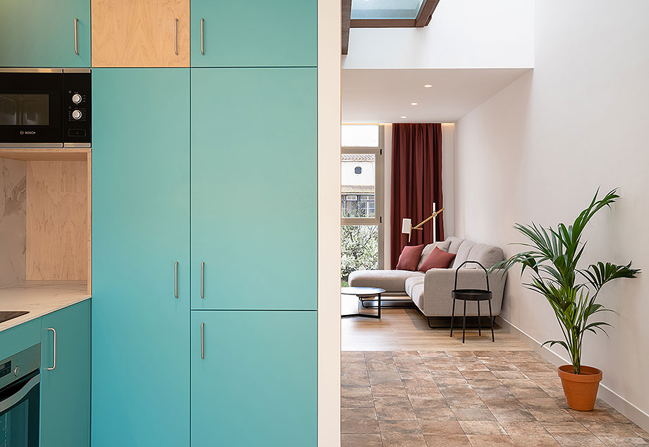 de garaje a vivienda por liniarquitectura (4) - foto laura tomas