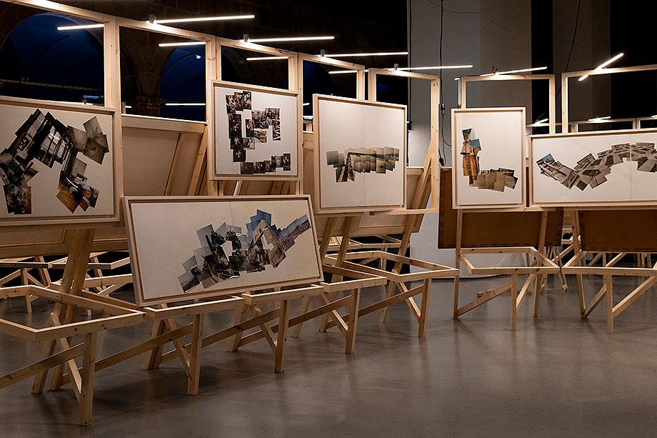 exposicion miralles. photos & collages - foto fundacio enric miralles