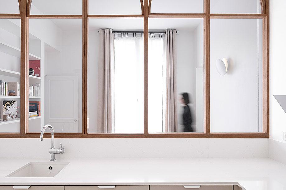 reforma integral de un apartamento en paris por anthropie architecture (s) (3) - foto juliette alexandre