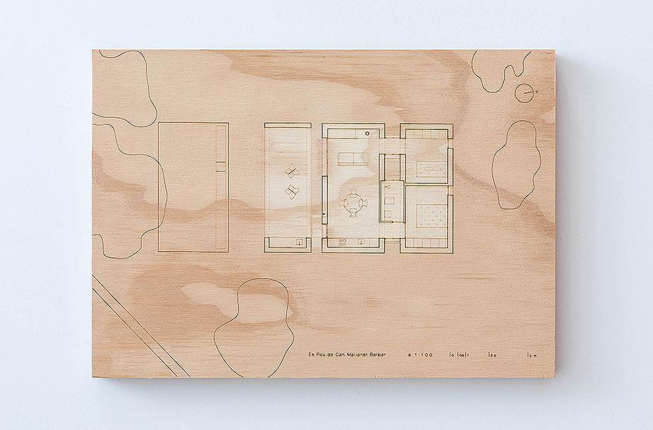 vivienda en formentera de marià castelló architecture (42) - maqueta
