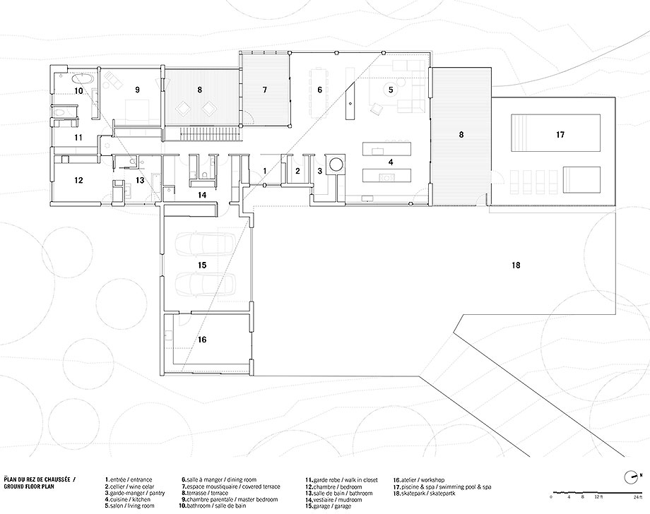 casa junto al lago de naturehumaine (25) - plano