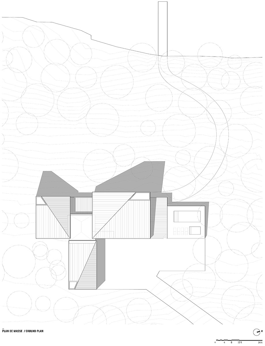 casa junto al lago de naturehumaine (26) - plano
