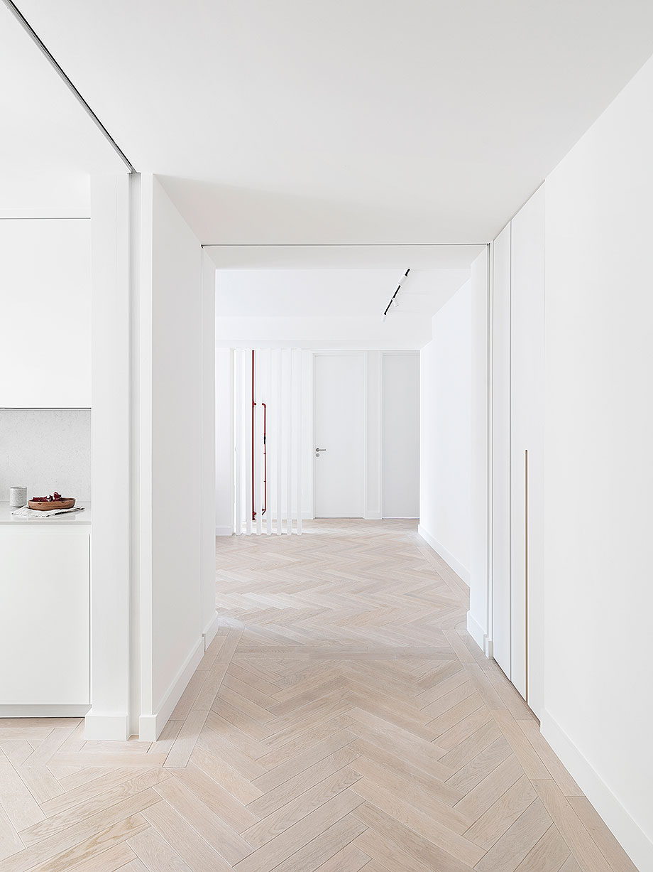 reforma apartamento en Notting Hill por Brosh Architects (1) - foto Ollie Hammick
