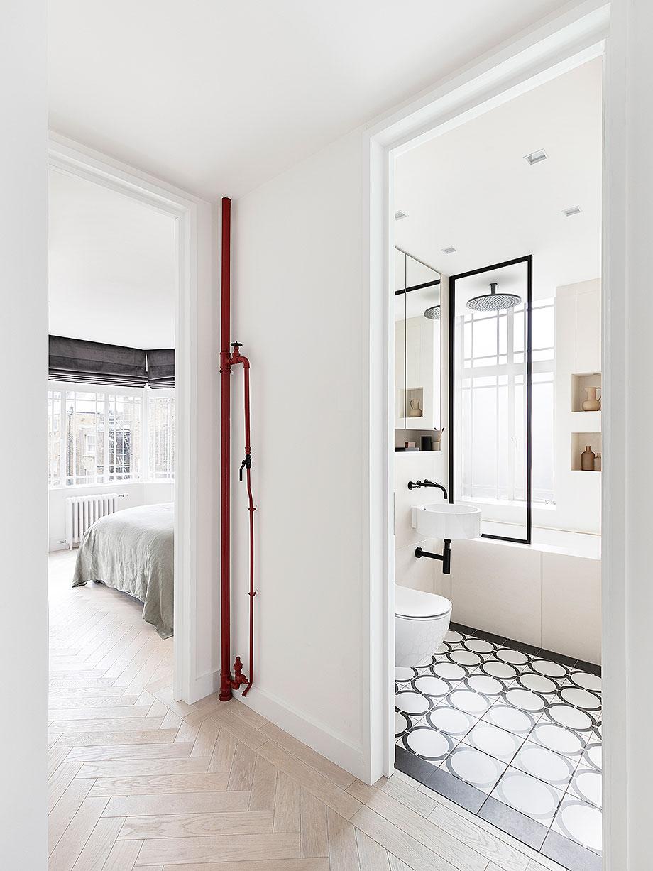 reforma apartamento en Notting Hill por Brosh Architects (11) - foto Ollie Hammick