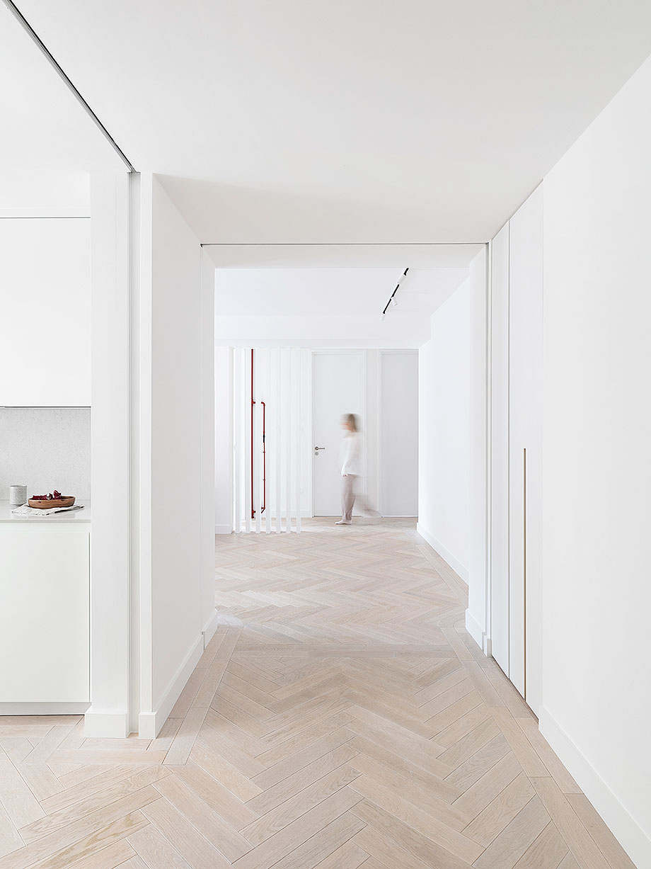 reforma apartamento en Notting Hill por Brosh Architects (3) - foto Ollie Hammick