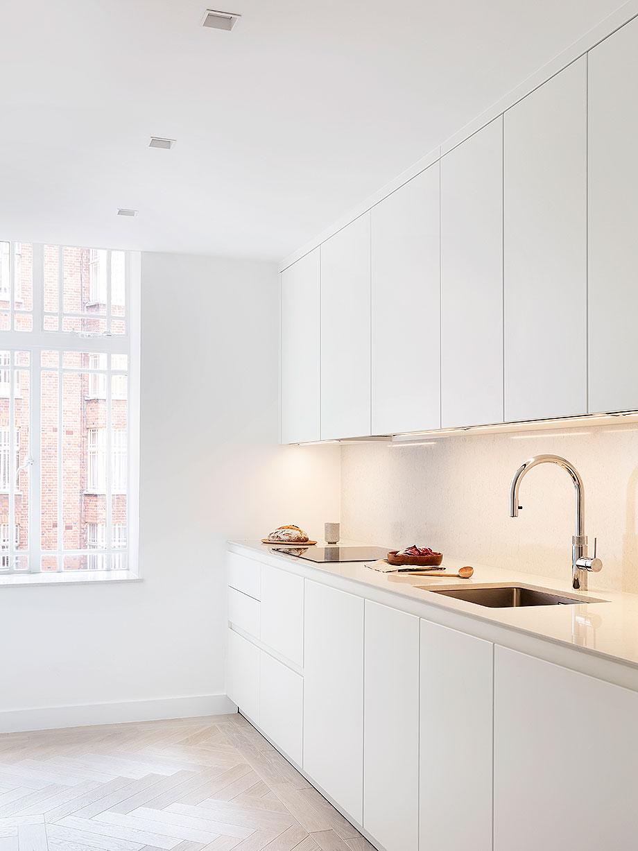 reforma apartamento en Notting Hill por Brosh Architects (4) - foto Ollie Hammick