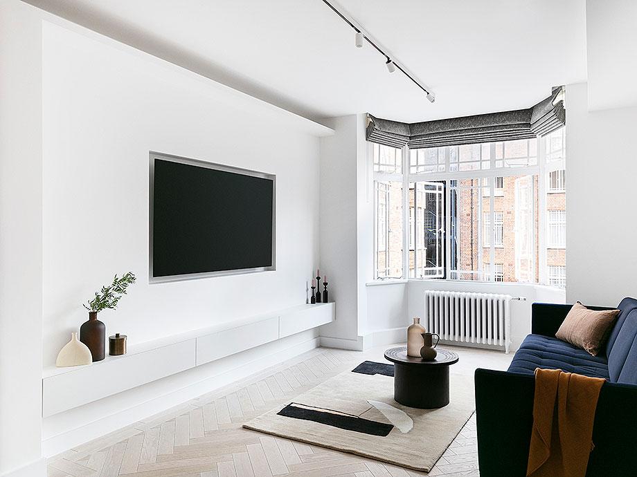 reforma apartamento en Notting Hill por Brosh Architects (5) - foto Ollie Hammick