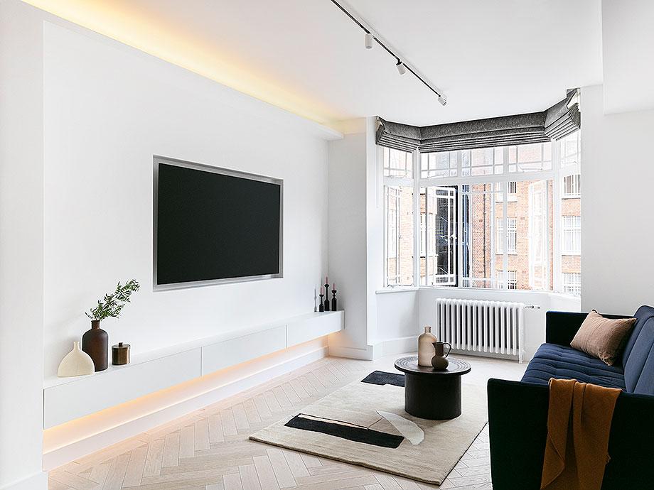 reforma apartamento en Notting Hill por Brosh Architects (6) - foto Ollie Hammick