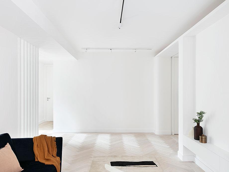 reforma apartamento en Notting Hill por Brosh Architects (7) - foto Ollie Hammick