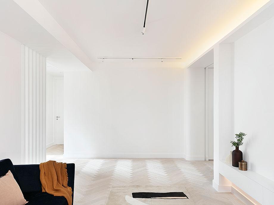 reforma apartamento en Notting Hill por Brosh Architects (8) - foto Ollie Hammick
