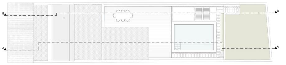 reforma de una casa de pescadores en menorca por gabriel montañes (12) - plano