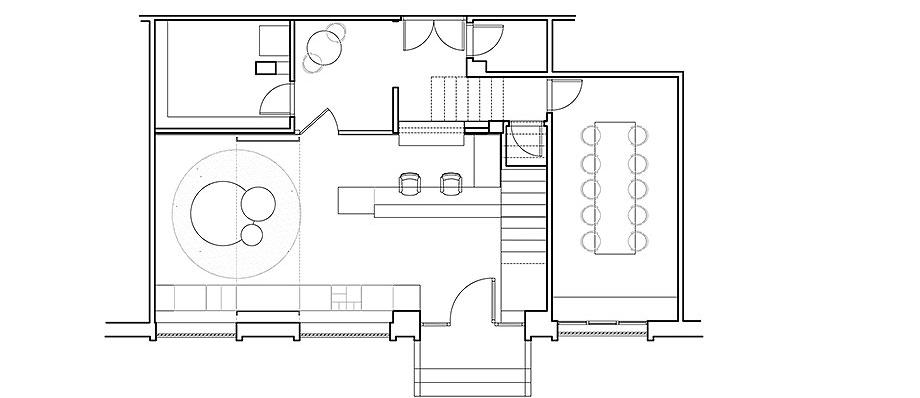 reforma oficinas aura por circulo cuadrado (13) - plano