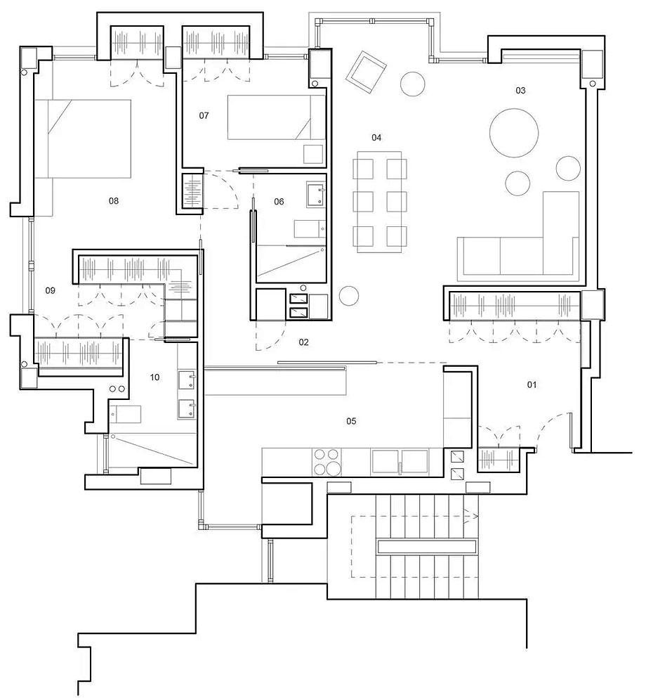 vivienda en valladolid de murillo y hernández arquitectura (13) - plano