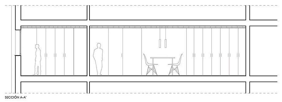 vivienda en valladolid de murillo y hernández arquitectura (14) - plano