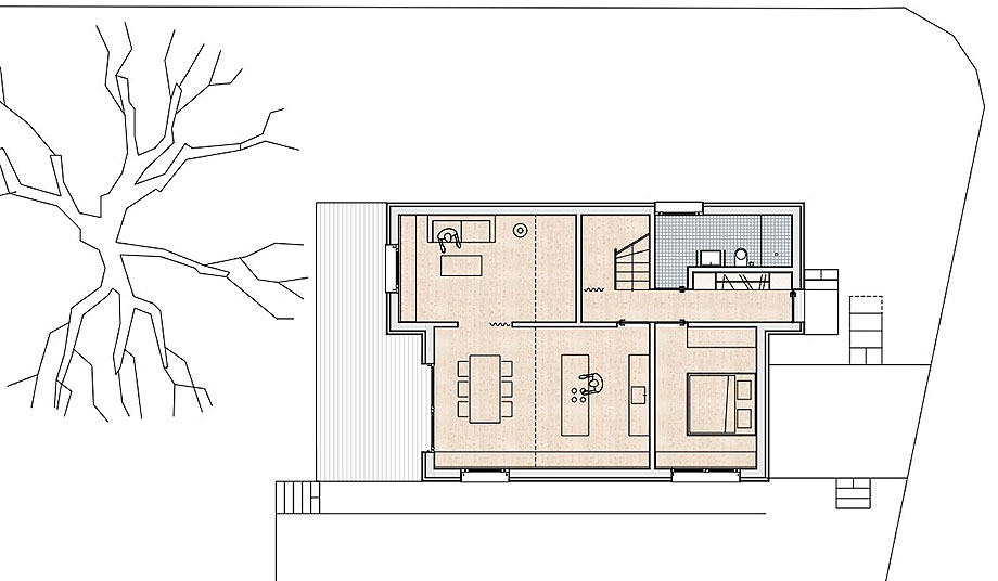 casa de madera de abeto de mwarchitekten (13) - foto adolf bereuter
