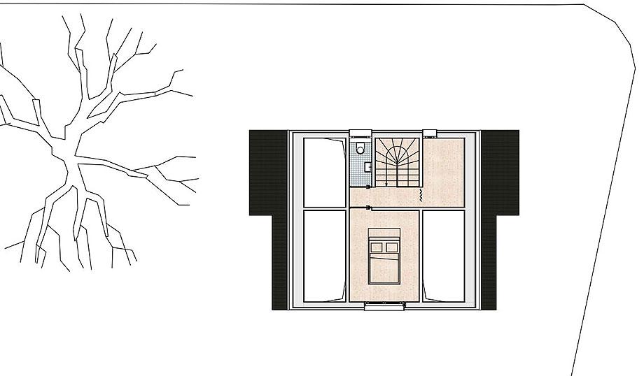 casa de madera de abeto de mwarchitekten (14) - foto adolf bereuter