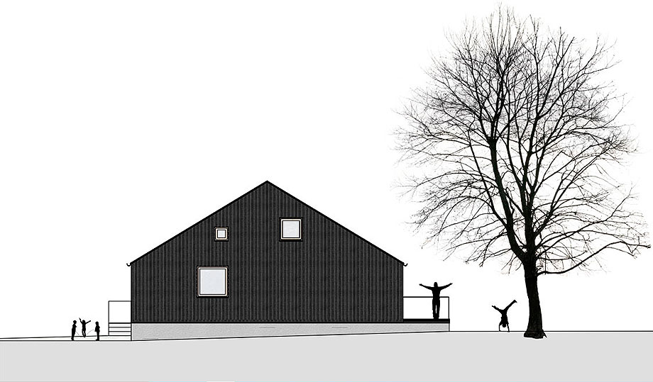 casa de madera de abeto de mwarchitekten (15) - foto adolf bereuter