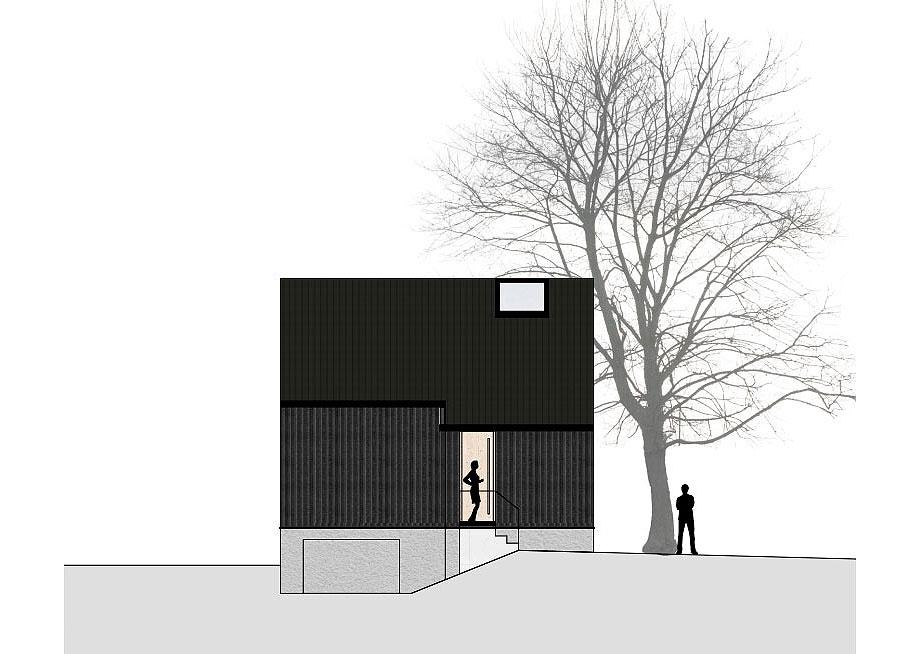 casa de madera de abeto de mwarchitekten (16) - foto adolf bereuter