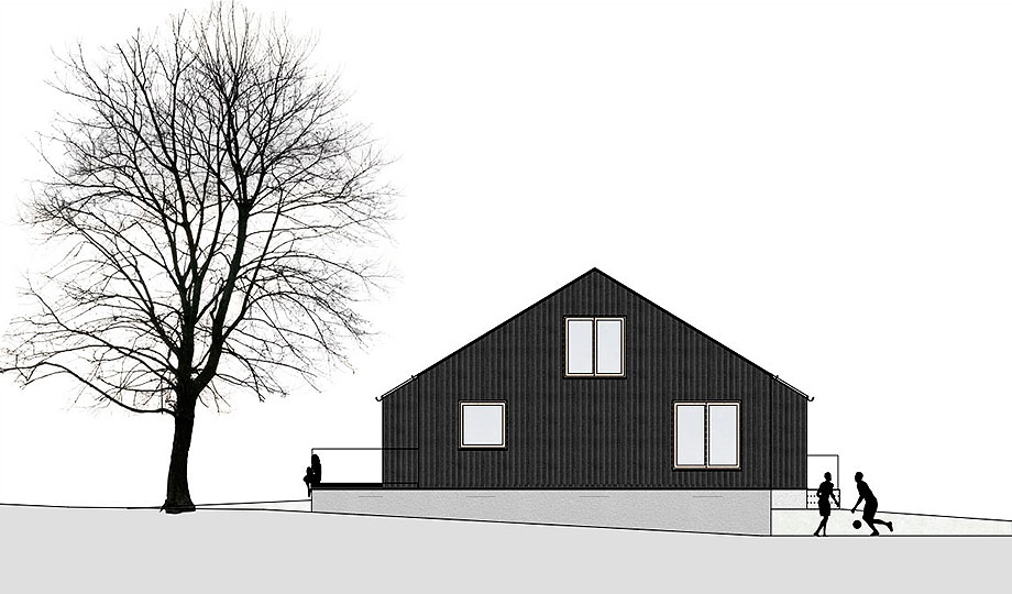 casa de madera de abeto de mwarchitekten (17B) - foto adolf bereuter