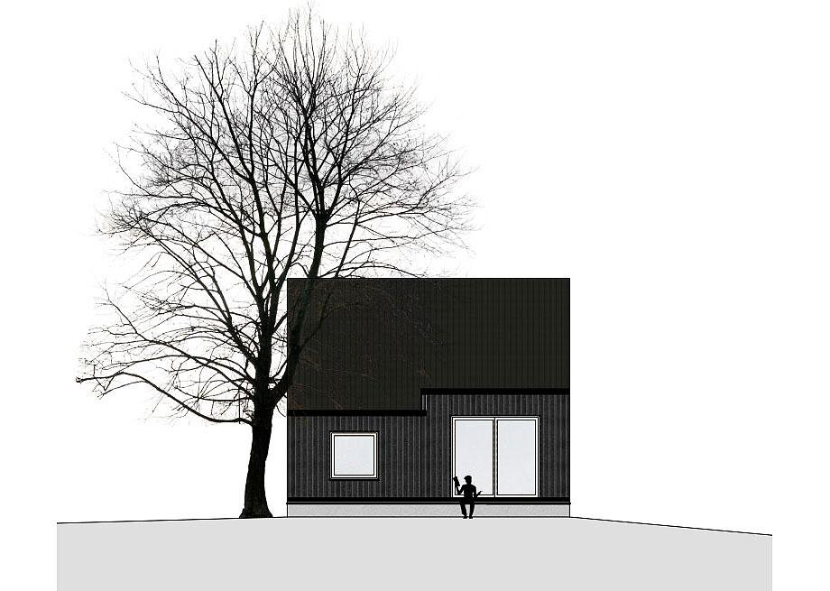 casa de madera de abeto de mwarchitekten (18) - foto adolf bereuter
