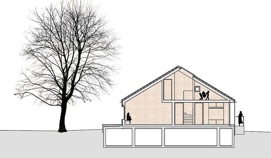 casa de madera de abeto de mwarchitekten (20) - foto adolf bereuter