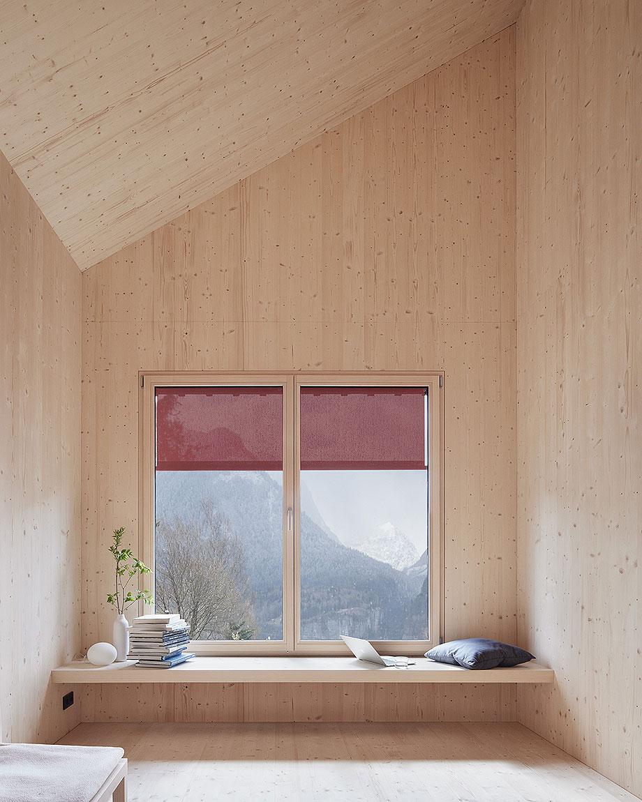 casa de madera de abeto de mwarchitekten (4) - foto adolf bereuter