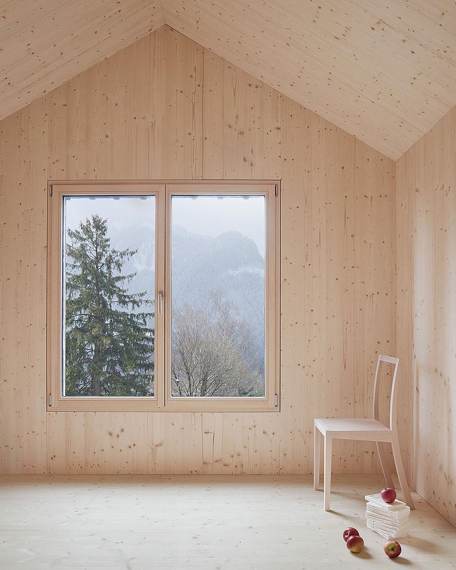 casa de madera de abeto de mwarchitekten (6) - foto adolf bereuter