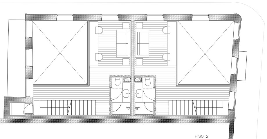 edificio sra da luz en oporto por as arquitecto (30) - plano